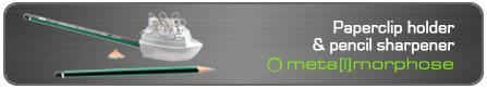 卷笔刀功能回形针收纳器